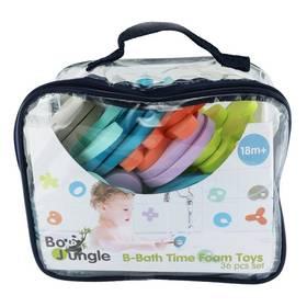 Pěnové hračky do vody Bo Jungle, 36ks