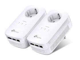 Sieťový rozvod LAN po 230V TP-Link TL-PA8030PKIT + IP TV na 1 měsíc ZDARMA (TL-PA8030PKIT) biely