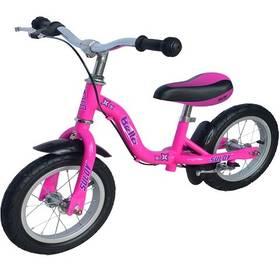 """Sulov BELLA 12"""" růžové + Reflexní sada 2 SportTeam (pásek, přívěsek, samolepky) - zelené v hodnotě 58 Kč + Doprava zdarma"""