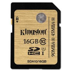 Kingston SDHC 16GB UHS-I U1 (90R/45W) (SDA10/16GB)