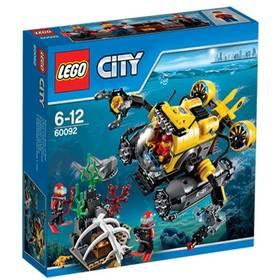 Lego® City Deep Sea Explorers 60092 Hlubinná ponorka