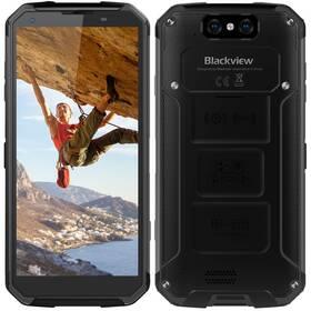 iGET BLACKVIEW GBV9500 (84000440) černý SIM s kreditem T-Mobile 200Kč Twist Online Internet (zdarma)Software F-Secure SAFE, 3 zařízení / 6 měsíců (zdarma)