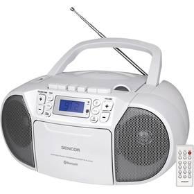 Radiomagnetofon s CD Sencor SPT 3907 W bílý