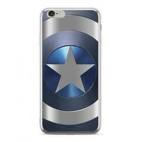 Marvel Captain America pro Apple iPhone 5/5s/SE (MPCCAPAM1801) stříbrný