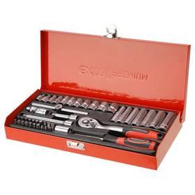 """Sada kľúčov EXTOL PREMIUM 8818360, nástrčné, 45 ks, 1/4"""", CrV"""