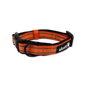 Obojok Alcott reflexní S 25-35cm neon oranžový