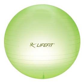 LIFEFIT Transparent 65cm zelený