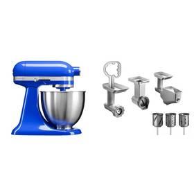 Set KitchenAid - kuchyňský robot 5KSM3311XETB + FPPC balíček s příslušenstvím + Doprava zdarma