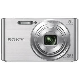 Sony Cyber-shot DSC-W830S stříbrný + Doprava zdarma