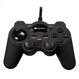 Canyon pro PC, PS2, PS3 (CNS-GP4) černý