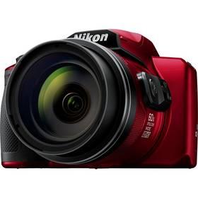Nikon Coolpix B600 + brašna červený + Doprava zdarma