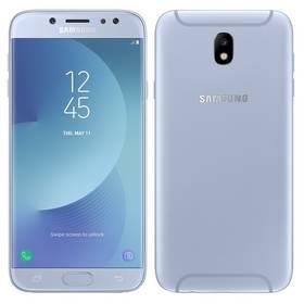 Samsung J7 2017 (J730F) (SM-J730FZSDETL) stříbrný SIM s kreditem T-Mobile 200Kč Twist Online Internet (zdarma) + Doprava zdarma