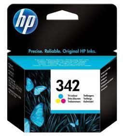 HP No. 342, 5ml, 175 stran - originální (C9361EE) červená/modrá/žlutá