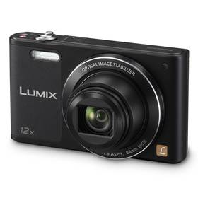 Panasonic Lumix DMC-SZ10EP-K černý + Doprava zdarma
