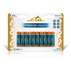 ETA PREMIUM ALKALINE AAA, LR03, blistr 10ks (R03PREM10)