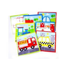 Puzzle Meadow Kids do vany - Dopravní prostředky