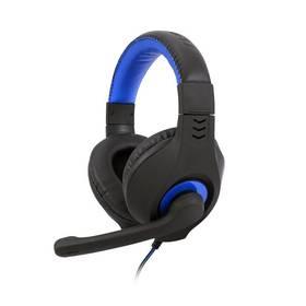 Headset C-Tech Nemesis V2 (GHS-14B) (GHS-14B) čierny/modrý