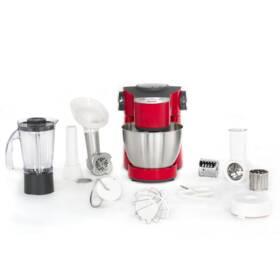 Robot kuchenny Tefal Wizzo QB317538 Czerwony