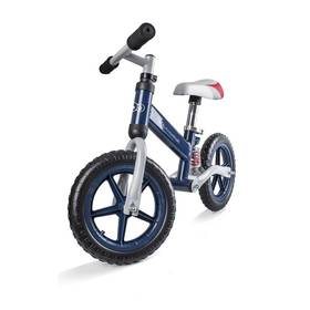"""KinderKraft Runner Bike Evo 12"""" modré + Reflexní sada 2 SportTeam (pásek, přívěsek, samolepky) - zelené v hodnotě 58 Kč"""