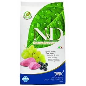 N&D Grain Free CAT Adult Lamb & Blueberry 10 kg + Doprava zdarma