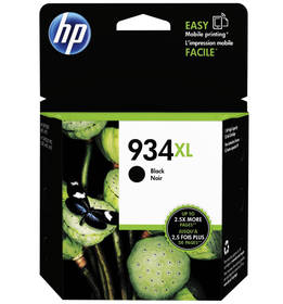 HP 934XL, 1000 stran (C2P23AE) černá