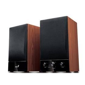 Głośniki Genius SP-HF1250B 2.0 (31731022100) Czarna/Imitacja drewna