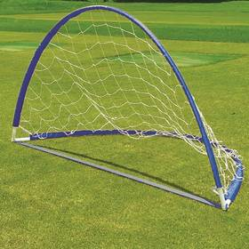 Master fotbalová skládací 160 x 80 x 80 cm modrá
