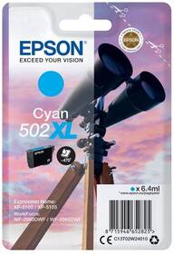 Inkoustová náplň Epson 502XL, 470 stran (C13T02W24010) modrá