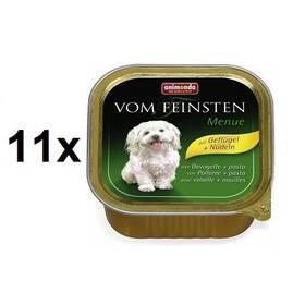 Paštéta Animonda Vom Feinsten Menue drůbeží + těstoviny 11 x 150g