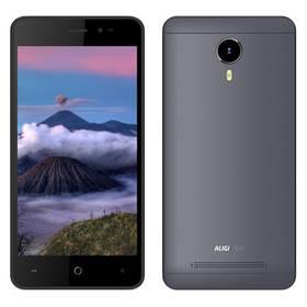 Aligator S5060 Dual SIM (AS5060GY) šedý SIM s kreditem T-Mobile 200Kč Twist Online Internet (zdarma)Software F-Secure SAFE 6 měsíců pro 3 zařízení (zdarma)
