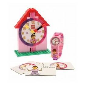 LEGO® Watch Time Teacher růžové + Doprava zdarma
