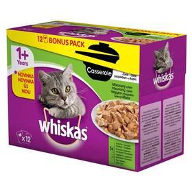 Kapsička Whiskas Casserole mixovaný výběr v želé 12pack 12 x 85g