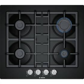Plynová varná deska Bosch PNP6B6B90 černá