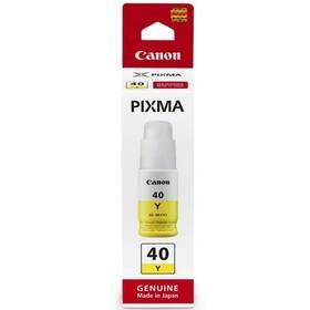 Canon GI-40 Y, 7700 stran, 70 ml (3402C001) žlutá