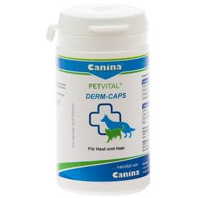 Tablety Canina Petvital Derm caps 100cps