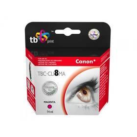 TB Canon CLI-8M - kompatibilní (TBC-CLI8MA) červená
