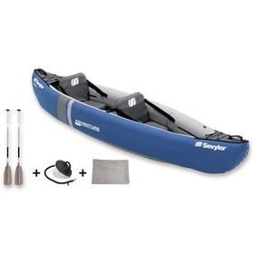 Sevylor ADVENTURE KIT - 2 místná kanoe (vč. pádla a nožní pumpy, rozměr 319 x 90 cm, nosnost 165 kg), hmotnost 15,9 kg