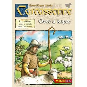 Hra Mindok Carcassonne - rozíření 9 (ovce a kopce)