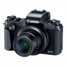 Canon PowerShot G1 X Mark III (2208C002) černý Paměťová karta Kingston SDXC 64GB UHS-I U1 (90R/45W) (zdarma) + Doprava zdarma