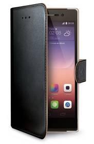 Celly Wally pro Huawei P8 Lite (WALLY507) černé