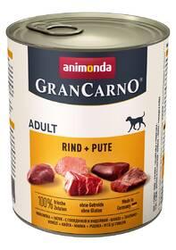 Animonda Adult Gran Carno Plus hovädzie + moriak 800 g