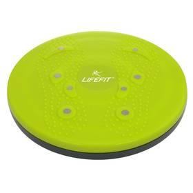 Rotační disk LIFEFIT Magnetic Rotana 25 cm - zelená + Doprava zdarma
