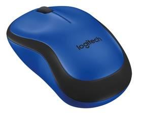 Logitech Wireless Mouse M220 Silent (910-004879) modrá + Doprava zdarma