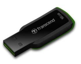 Transcend JetFlash 360 16GB (TS16GJF360) černý/zelený