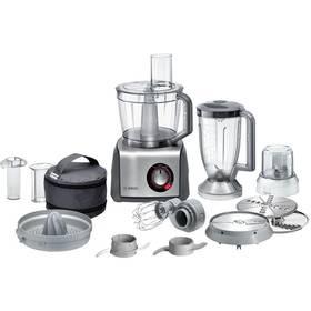 Bosch MCM68861 šedý + K nákupu poukaz v hodnotě 1 000 Kč na další nákup + Doprava zdarma
