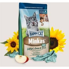 HAPPY CAT ADULT Minkas Geflügel-Lamm-Fisch / Drůbež & Jehně & Ryba 10 g + Doprava zdarma
