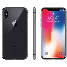 Apple iPhone X 64 GB - Space Gray (MQAC2CN/A) + Doprava zdarma