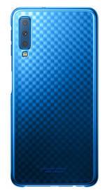 Kryt na mobil Samsung Gradation cover pro A7 (2018) (EF-AA750CLEGWW) modrý