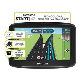 Tomtom START 42 Regional CEE LIFETIME mapy (1AA4.030.01) černá + Doprava zdarma