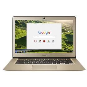 Acer Chromebook 14 (CB3-431-C5PK) (NX.GJEEC.002) zlatý + Doprava zdarma
